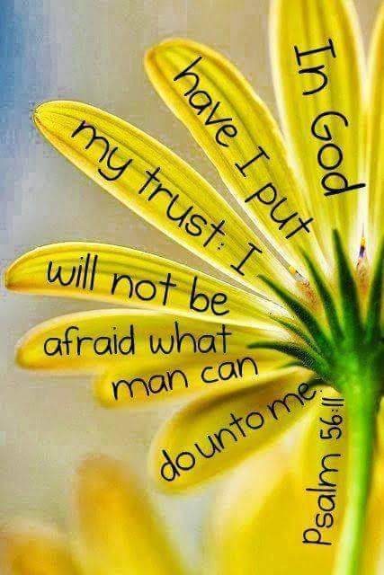 In trust
